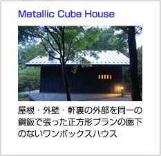 Metallic Cube House